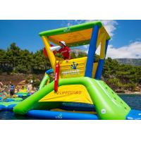 China Big Floating 0.9mm PVC Outdoor Inflatable Water Park Equipment OEM / ODM wholesale