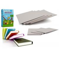China Good Stiffness Uncoated Grey Paperboard Book Boards For Binding wholesale