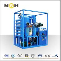 China High Vacuum Insulation Oil Filtration Machine Portable System Heavy Duty wholesale