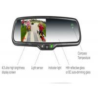 China Wifi Wireless Hd Rear View Mirror Camera Recorder LCD Monitor 1080P wholesale