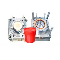 China Durable Household Plastic Paint Bucket Mould , Industrial Injection Molding Tool wholesale