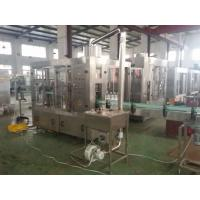 Pure Water / Beverage Automatic Filling Machine Touch Screen 6000 Bottles Per Hour