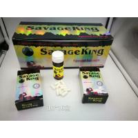 China Savage king powerfulk natural male enhancement pills prolong erection rock harder on sale