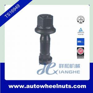 China Heat Treatment Truck M22 x 1 . 5 Wheel Nuts , 118mm Length Bolt / 32mm Length wholesale
