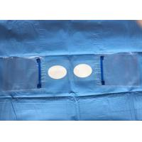 China Eye Ophthalmic Sterile Disposable Surgical Drapes Alcohol Resistant With Two Holes And Pouch wholesale