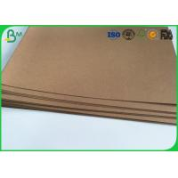 "China Good Stiffness Brown Kraft Liner Paper 36"" 300gsm Tear Proof For Handbag wholesale"