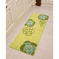 China Restaurant / meeting room commercial non skid washable kitchen rugs on sale