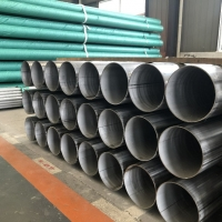 China ASTM A312 UNS S30815 Stainless Steel Threaded Pipe large size wholesale