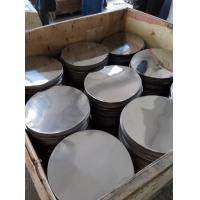 China stainless steel disc 410 BA deep drawing soft temper circle wholesale