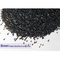 China Brown 120 Grit Aluminium Oxide Blasting Media 12# - 220# Al2O3 95% Purity High Hardness wholesale