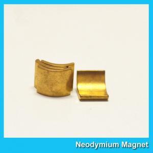 China Arc Shaped Neodymium Motor Magnets N38H Grade Wind Generator NdFeb Magnet wholesale
