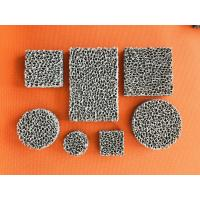 China High Porosity Sponge Filter Material Three Dimensional Connected Mesh Structure wholesale