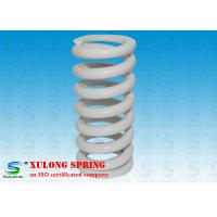 China White Plating Customized Elevator Compression Springs Oil Tempered Steel Material wholesale