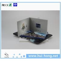 China TFT lcd advertising video greeting card on sale