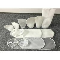 China Sewn Structure Pocket Filter Bag Liquid - Solid Separation Use High Strength wholesale