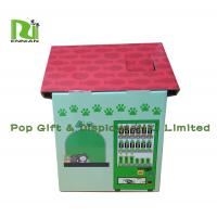 China Customization Cardboard Cat Scratcher House Display For Pet Retailers , Eco Friendly wholesale