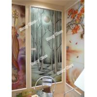 China Decorative Glass Partition for Office and restaurant on sale
