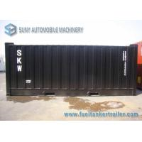 China Professional 20 Feet 29000L Asphalt Tanker Trailer With Heating System wholesale