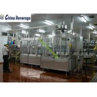 China Energy Drink Water Bottle Filling Machine , Carbonated Soft Drink Production Line wholesale