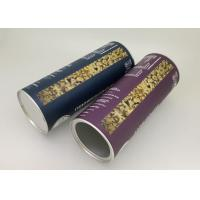 China Aluminium Foil Lining Paper Tube Packaging / Oatmeal Container 83mm Diameter 230mm Height wholesale