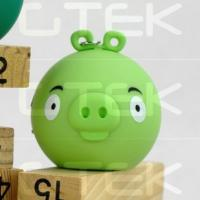 China Angry Bird 3W Rechargeable Mini Speakers For Iphone Ipad Ipod wholesale