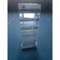China 5 Tier Clear Acrylic Material acrylic telephone accessories wholesale