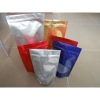 China Custom PET / PA/AL / PE / LDPE Stand up Ziplock Mylar Food Plastic Pouches Packaging wholesale