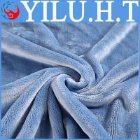 China super soft knitted 200*240 100% polyester microfiber coral fleece blanket made in china wholesale