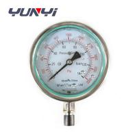 China oil liquid filled pressure gauge wholesale