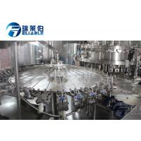 China Electrical Control Carbonated Drink Filling Machine Slim Bottle Beverage Filling Equipment wholesale