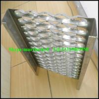 China lowes non slip stair treads/Perforated metal stair treads wholesale