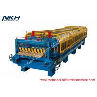 China Semi Round Shape Roof Tile Making Machine With PLC Control System on sale