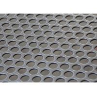 China Round Holes Stainless Steel Perforated Metal Sheet For Water / Oil / Air Filtration wholesale