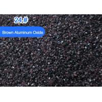 China 95 Brown Aluminium Oxide Blasting Media Sandblasting Beautification Processing wholesale