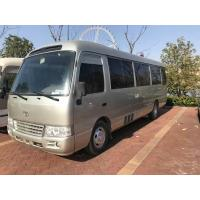 China 2010 Toyota Used Coaster Bus 30 Seats Diesel Engine LHD 71500 Km Mileage wholesale