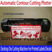 Buy cheap Vinyl Sign Cutter With ARMS Automatic Contour Cutting Plotter A3 Die Cutting from wholesalers