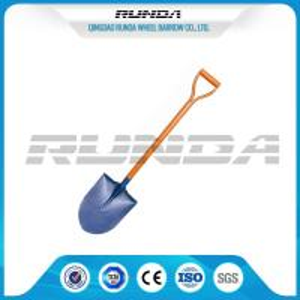 China Railway Steel Long Handle Spade Shovel/ Garden Spade S503 For Farm Digging on sale