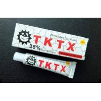 China Professional White TKTX Skin Numbing Cream 35% Permanent Makeup Tattoo Pain Killer wholesale