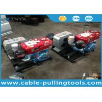 China 5T Water Cooled Diesel Engine Cable Winch Puller for Tower Erection wholesale