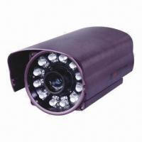 China IR Weatherproof Camera with 12pcs High-power Infrared LEDs, 700TVL Resolution, 80m Long IR Distance wholesale