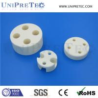 China High Precision Machining Insulating Alumina Al2O3 Ceramic Spacer wholesale