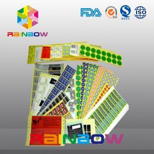 China Custom Printed Colorful Shrink Sleeve Labels Self Adhesive Paper Laminated Food Labels wholesale