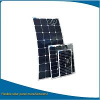 China 100w semi flexible solar panel / solar panel bendable with CE, Rohs certification for cheap sale wholesale
