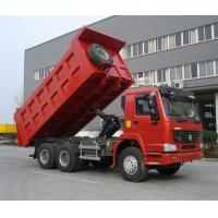 China Red SINOTRUK Euro II Mining Dump Truck With Φ420mm Single Plate Dry Clutch on sale