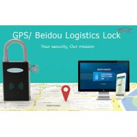 China Wifi Padlock GPS Padlock For Container , Zinc Alloy Logistic Fleet Management GPS Tracker wholesale