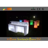 82 * 82 * 110cm LED lighting counter / illuminated bar table / Bar Furniture Manufactures