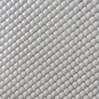 China Shiny PU Quilted Leather Fabric Fashionable Multi Application Custom Thickness wholesale