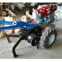 China 60KN Electrical Cable Pulling Tools 5 Ton Hand Tractor Winch With Double Drum wholesale