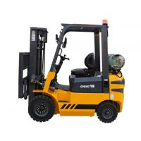 China High Lift Portable Gasoline Forklift In Warehouse , Compact Forklift Trucks wholesale