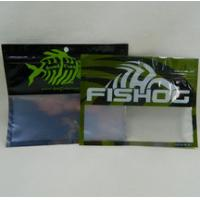 Quality Customized Size Plastic Fishing Worm Bags , Free Sample Surf Fishing Lure Bags for sale
